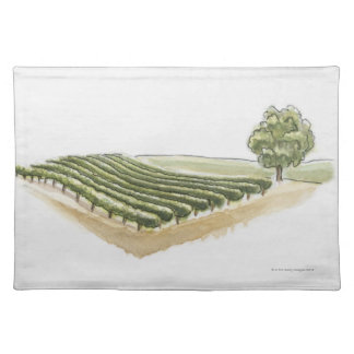 Saint-Emilion, France Placemat