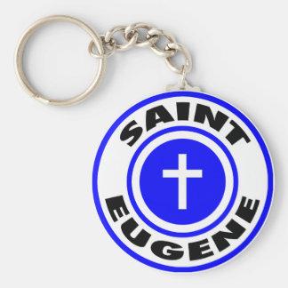 Saint Eugene Key Ring