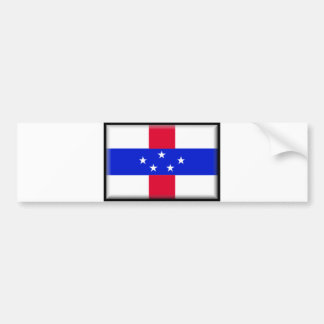 Saint Eustatius Flag Bumper Sticker