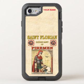 SAINT FLIORAN (Patron Saint of Firemen) OtterBox Defender iPhone 7 Case
