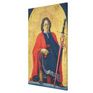 Saint Florian, Italian, c. 1473-74 Canvas Print