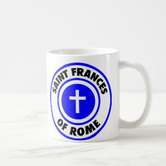 Saint Frances of Rome Basic White Mug