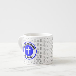 Saint Frances of Rome Espresso Mug