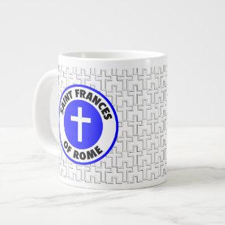 Saint Frances of Rome Jumbo Mugs