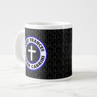 Saint Frances Xavier Cabrini Jumbo Mug