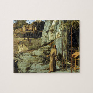Saint Francis in the Desert by Giovanni Bellini Jigsaw Puzzle