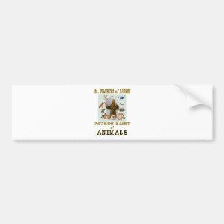 SAINT FRANCIS of ASSISI Bumper Sticker