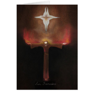 Saint Francis of Assisi Card