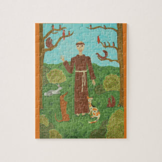 Saint Francis of Assisi Jigsaw Puzzle