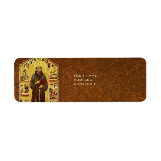 Saint Francis of Assisi Mediaeval Religious Icon