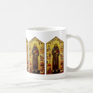 Saint Francis of Assisi Medieval Iconography Classic White Coffee Mug