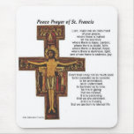 Saint Francis of Assisi Mouse Mats