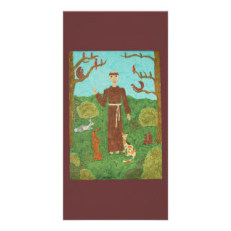 Saint Francis of Assisi Picture Card