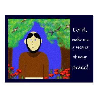 Saint Francis of Assisi Postcard