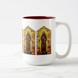 Saint Francis of Assissi Renaissance Mugs