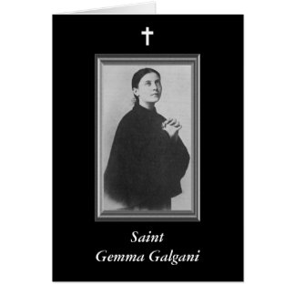 Saint Gemma Galgani Note Card