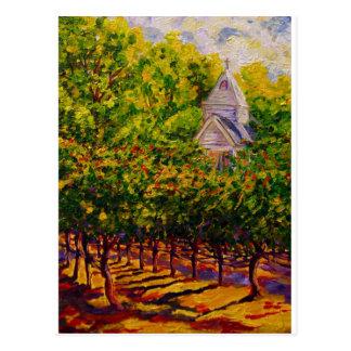 Saint Genevieve Chapel at Butterfly Creek Winery Postcard