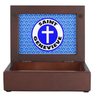 Saint Genevieve Keepsake Box