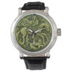 SAINT GEORGE AND DRAGON MEDALLION WATCH