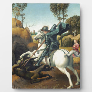Saint George and the Dragon Plaque