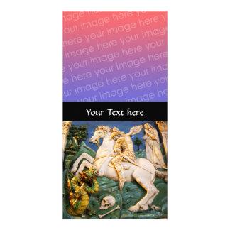 Saint George,Dragon and Princess Photo Card