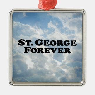 Saint George Forever - Basic Christmas Ornament