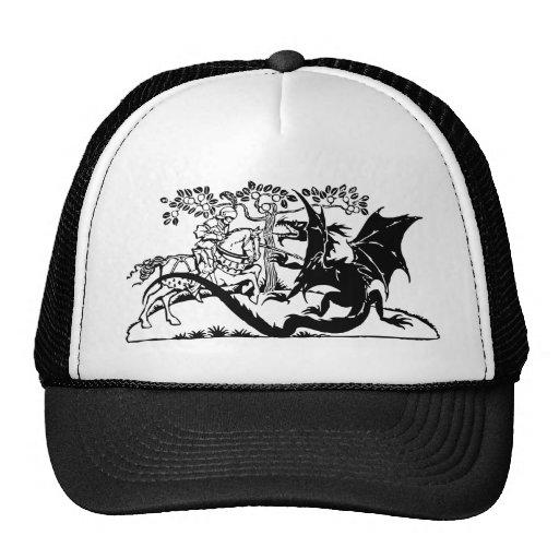 Saint George & The Dragon Mesh Hat