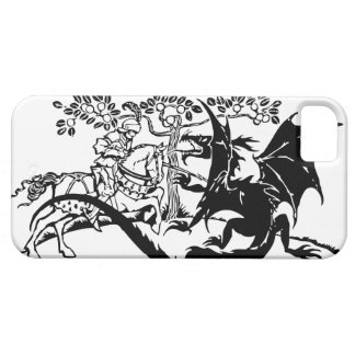 Saint George & The Dragon iPhone 5 Cover