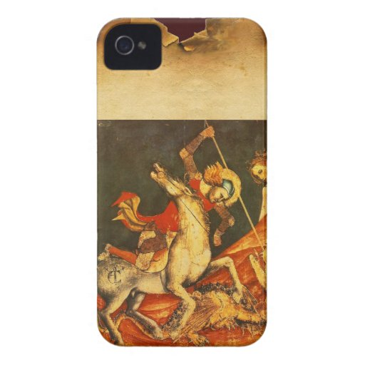 Saint George's Battle with the Dragon Case-Mate Blackberry Case