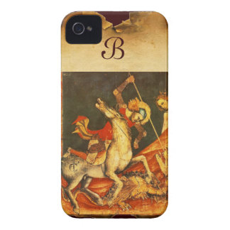 Saint George's Battle with the Dragon Case-Mate iPhone 4 Case