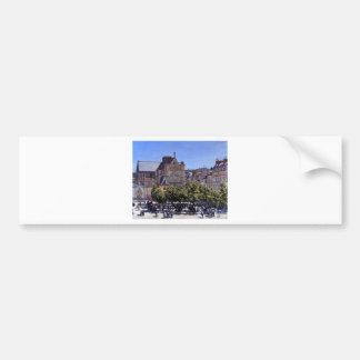 Saint Germain l'Auxerrois by Claude Monet Bumper Sticker