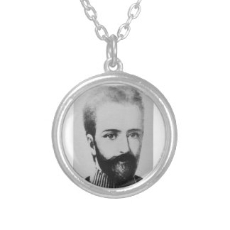 Saint Germain Silver Plated Necklace