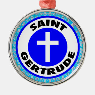 Saint Gertrude Christmas Ornament