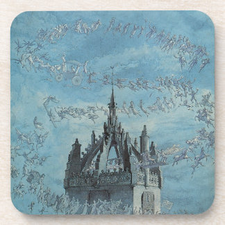 Saint Giles - His Bells by Charles Altamont Doyle Beverage Coasters