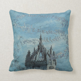 Saint Giles - His Bells by Charles Altamont Doyle Cushion