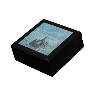 Saint Giles - His Bells by Charles Altamont Doyle Small Square Gift Box