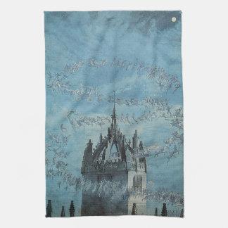 Saint Giles - His Bells by Charles Altamont Doyle Tea Towels