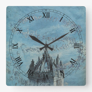 Saint Giles - His Bells by Charles Altamont Doyle Wall Clocks