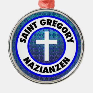 Saint Gregory Nazianzen Christmas Ornament