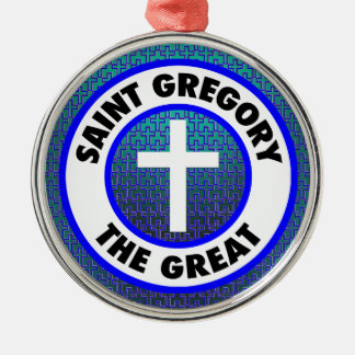 Saint Gregory the Great Christmas Ornament