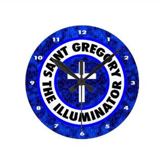 Saint Gregory the Illuminator Wallclocks