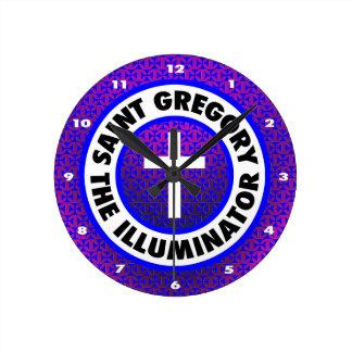 Saint Gregory the Illuminator Wall Clocks