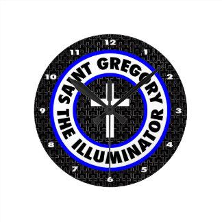 Saint Gregory the Illuminator Wallclock
