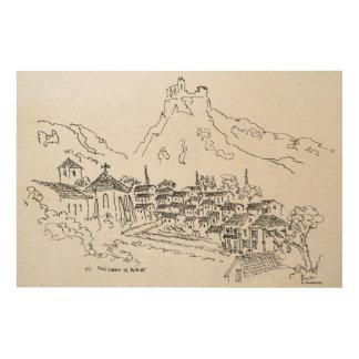Saint-Guilhem-Le-Desert, France Wood Print