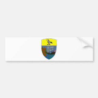 Saint Helena Coat of Arms Bumper Stickers