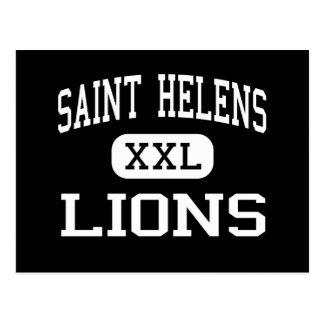 Saint Helens - Lions - High - Saint Helens Oregon Postcard