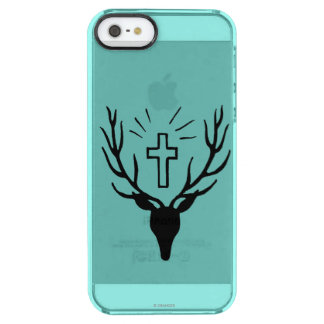 Saint Hubert's Stag Clear iPhone SE/5/5s Case