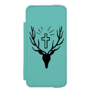 Saint Hubert's Stag Incipio Watson™ iPhone 5 Wallet Case