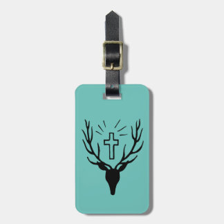 Saint Hubert's Stag Luggage Tag