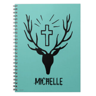 Saint Hubert's Stag Spiral Notebook